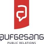 Logo von Aufgesang Public Relations