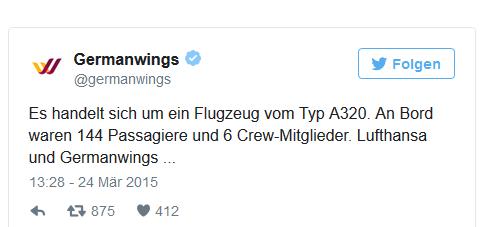 Quelle: Focus Online/Germanwings