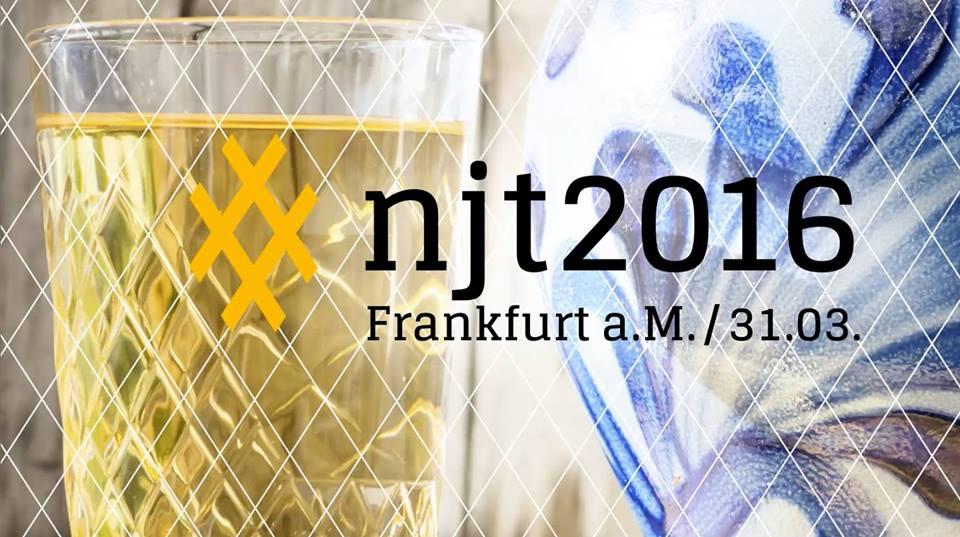 #NJT2016 vom 31.03. - 02.04. in Frankfurt am Main