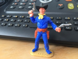 Frank Behrendt's Lieblingscowboy.