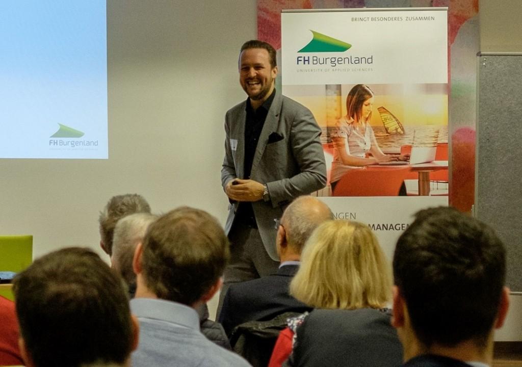 eLAC-Geschäftsführer Michael Roither. Fotocredit: FH Burgenland/Robert Pinzolits