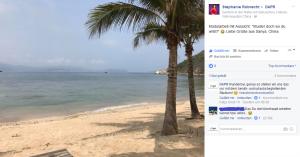 Facebook-Nachricht: DAPR-Studentin Stephanie Robrecht live aus China…