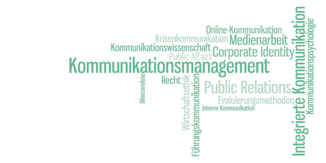 Studieninhalte des DAPR-Masterstudiums PR und integrierte Kommunikation