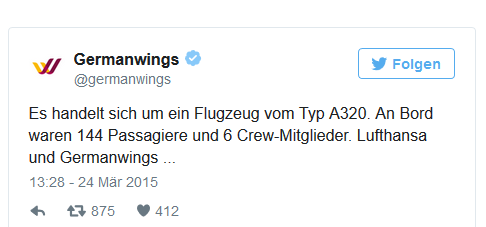 Quelle: Focus Online/Germanwings