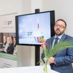 Tim Ende-Styra hielt bei #DAPR25 einen Impulsvortrag zum Top-Thema Digitalisierung.