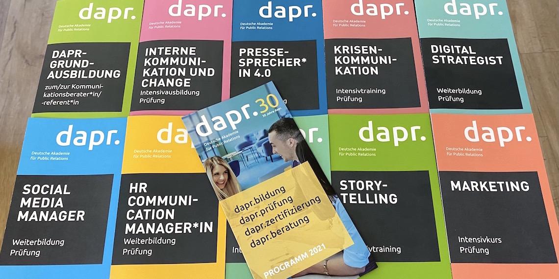 dapr-Flyer/Seminarprogramm (Header-Bild)