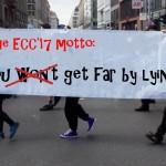 "Motto der ECC 2017: ""You (won't) get far by lying"""