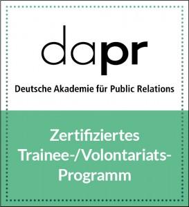 DAPR-Zertifizierungs-Siegel