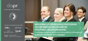 """Titelseite Master-Booklet MSc """"Strategische Kommunikation und PR"""" und """"Digitale Kommunikation"""""""