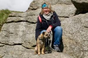 Ausgleich vom Lehren und Lernen für DAPR-Dozentin Renée Hansen: Spaziergänge mit ihrem Hund