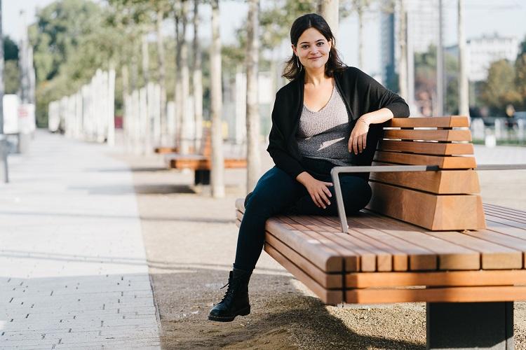 DAPR-Studentin Vicky Weber