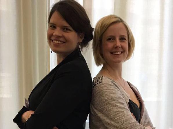 Team-HR und DAPR-Dozentinnen: Melanie Berthold und Maren Kaspers.