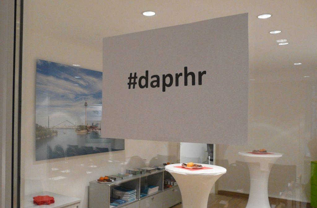 """""""HR und PR im Schulterschluss für eine erfolgreiche Arbeitgeberkommunikation"""" - kurz #daprhr - hieß es am 13.12.2017 in Düsseldorf"""