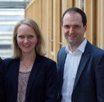Foto: Regina Kirchmeier; v.l.n.r.: Prof. Dr. Peter Szyszka, Prof. Dr. Annika Schach und DAPR-Geschäftsleiter Nils Hille.