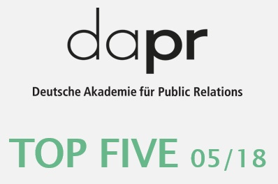 TOP FIVE - Der Newsletter der DAPR