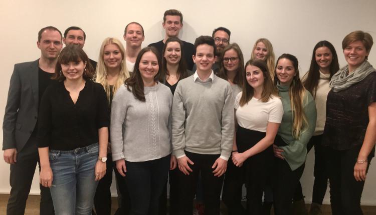 Studierende des Jahrgangs 2018 der Masterlehrgänge an der DAPR