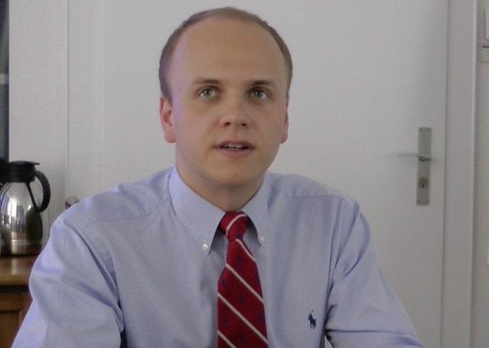 DAPR-Prüfer Daniel Seack von thyssenkrupp Elevator