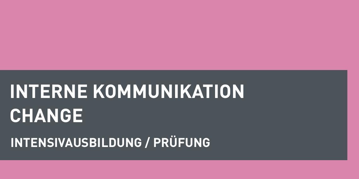 dapr-Seminar Intensivausbildung Interne Kommunikation und Change (Header-Bild)