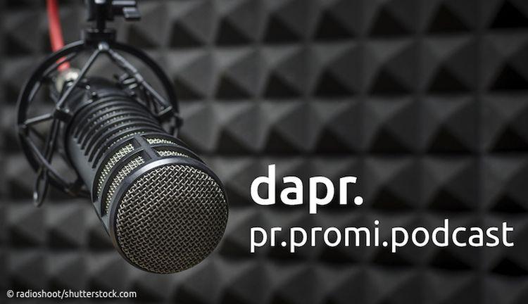 pr.promi.podcast der dapr (Foto: radioshoot/shutterstock.com)