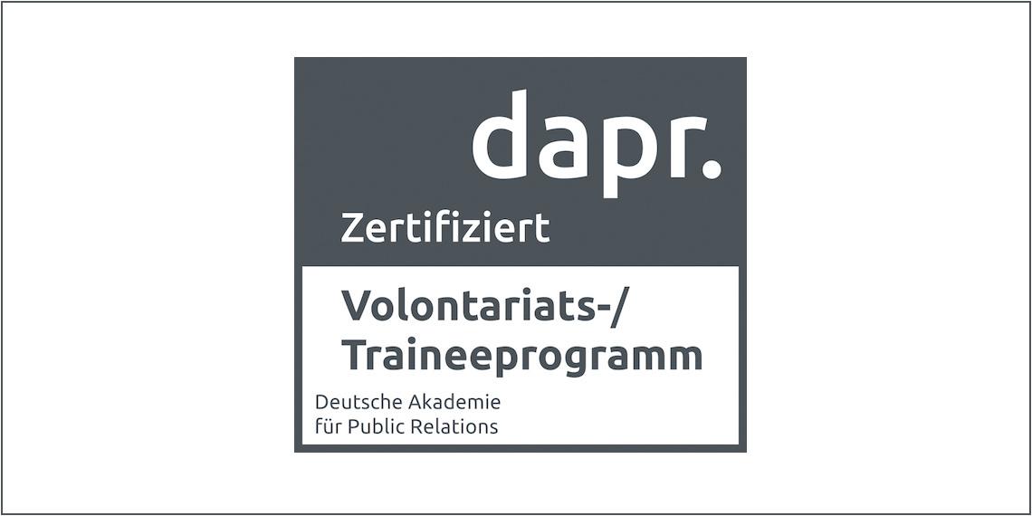 dapr-Zertifizierung (Siegel)