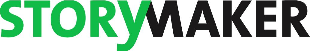 """Logo Storymaker. Das Volontariat der Agentur trägt das Siegel """"dapr-zertifiziert""""."""