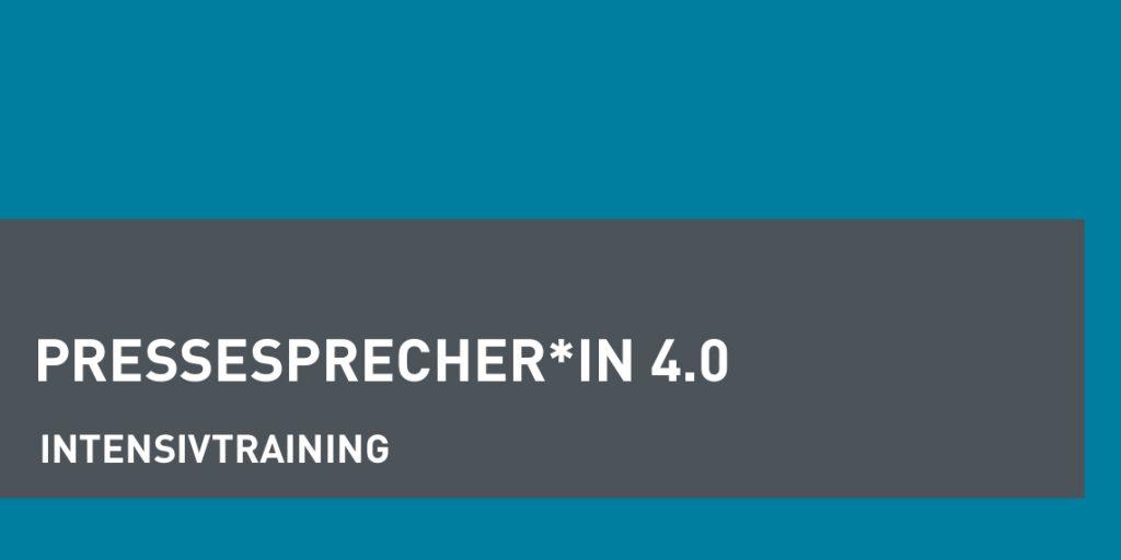 dapr-Intensivtraining Pressesprecher*in 4.0 (Header-Bild)