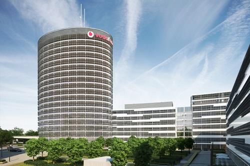 Vodafone Campus, Düsseldorf. Hier finden die Präsenzmodule der Masterlehrgänge statt.