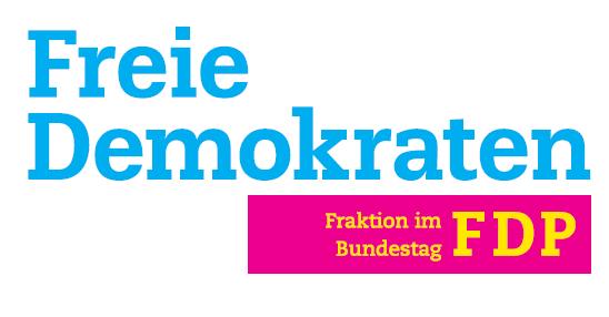 """FDP-Logo. Das Traineeprogramm Presse und Öffentlichkeitsarbeit trägt das Siegel """"dapr-zertifiziert""""."""