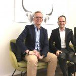 Christian H. Bahlmann, Head of Corporate Communications von Bahlsen im pr.promi.podcast und auf dem #daprsofa
