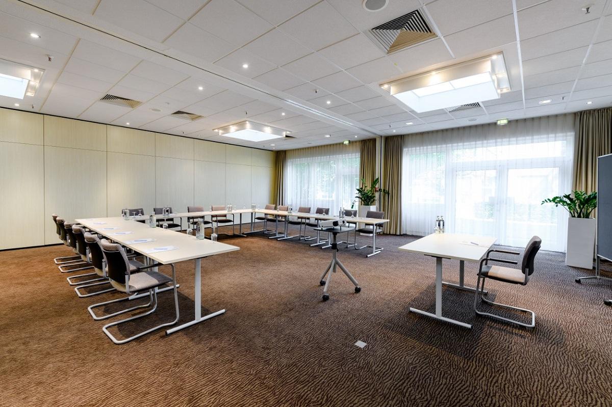Die dapr nutzt in Frankfurt am Main unter anderem Seminarräume im Novotel