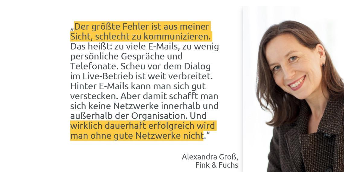 #daprzertifiziert - Tipps zum Berufseinstieg von Alexandra Groß, Fink & Fuchs AG