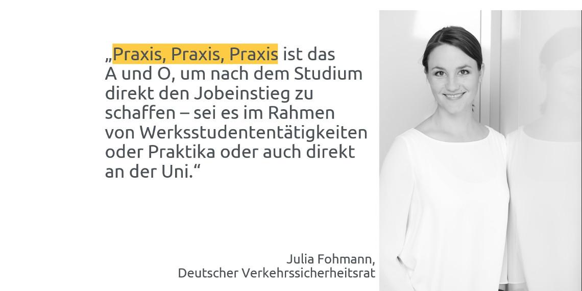 #daprzertifiziert - Tipps zum Berufseinstieg von Julia Fohmann, DVR