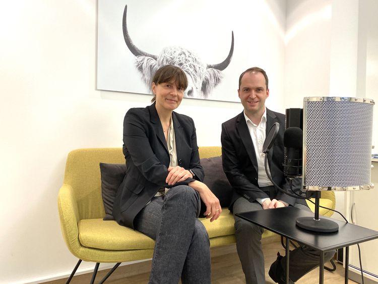 Birgit Ziesche, Interne Kommunikation bei Henkel, im pr.promi.podcast und auf dem #daprsofa