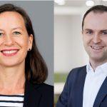 dapr-Geschäftsführer Nils Hille und GPRA-Vizepräsidentin Alexandra Groß