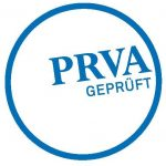 Siegel PRVA-geprüft für den Masterlehrgang Crossmediale Marketingkommunikation