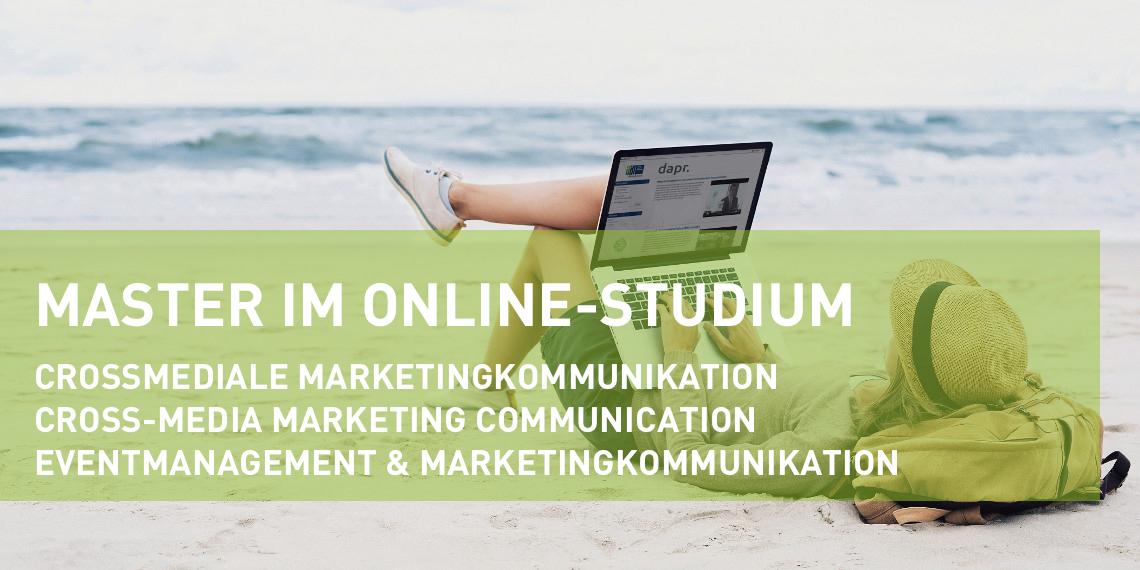 Master in Marketingkommunikation im Online-Studium (D/E) (Header-Bild)