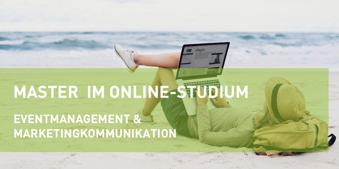 Online-Masterstudium Marketingkommunikation in der Vertiefung Eventmanagement (Header Bild)