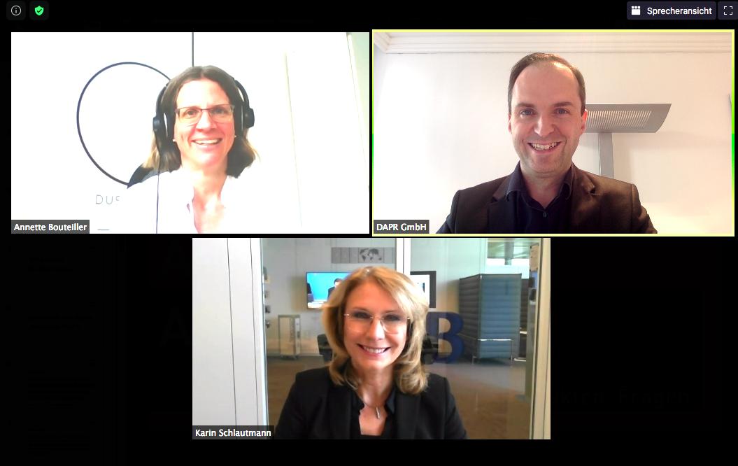 Ask me anything mit Karin Schlautmann, Leiterin Unternehmenskommunikation von Bertelsmann SE & Co. KGaA