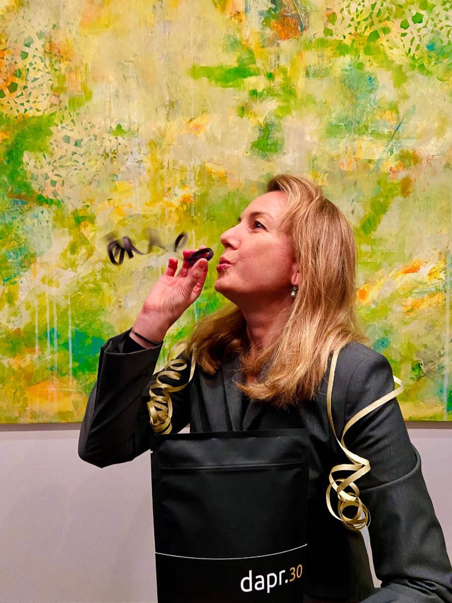 Geburtstagsgruß von dapr-Dozentin Christiane Schmitz